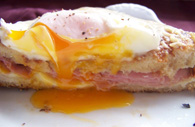 Ham and Egg Toasted Sandwich